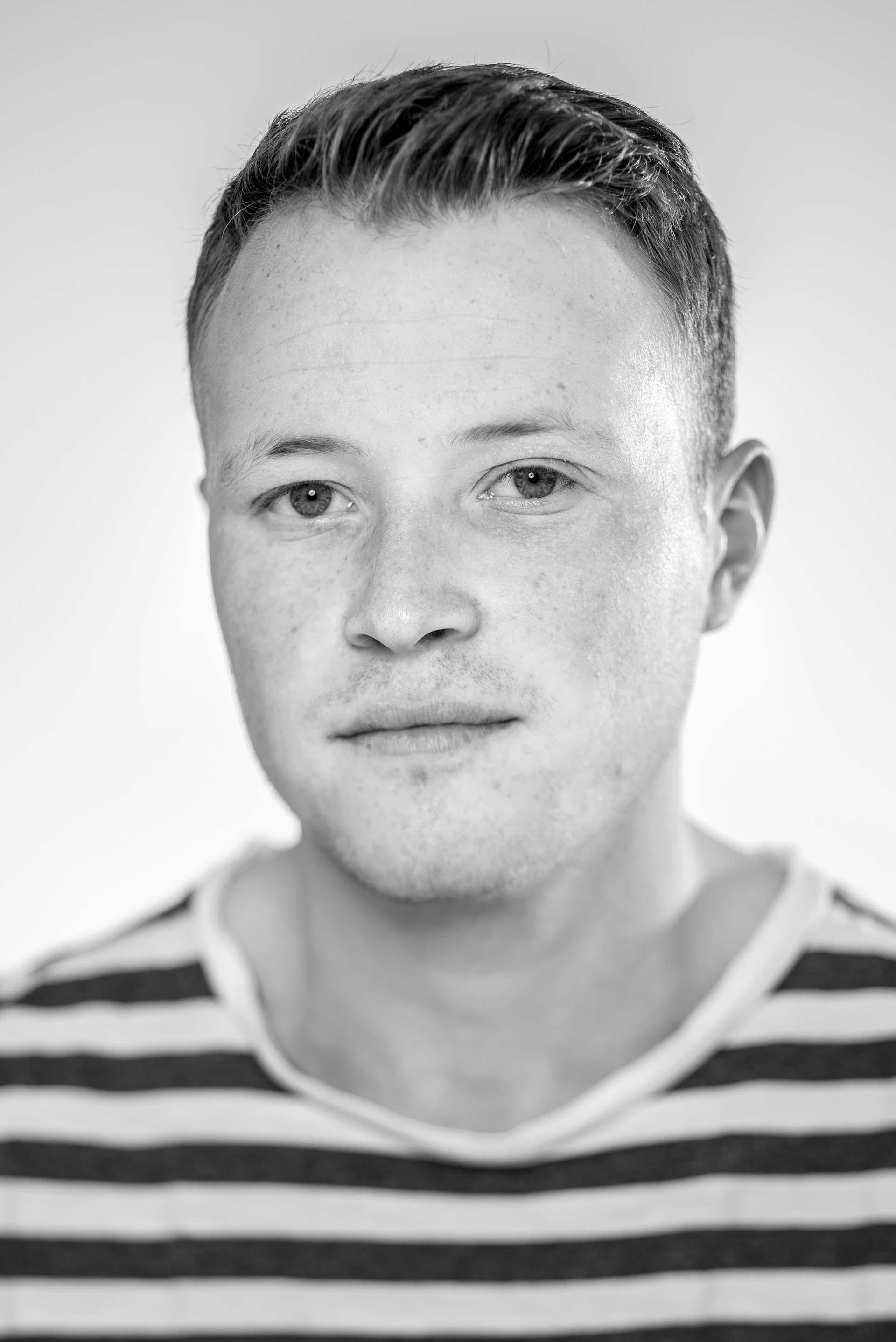 De nieuwe interieurarchitecten. Zwart wit fotografie. Portretten, portret, portretfotografie editorial voor HAACS door fotograaf Frank Penders. Fotograaf voor de randstad vanuit Gouda met een focus op Rotterdam, Den Haag en Utrecht.