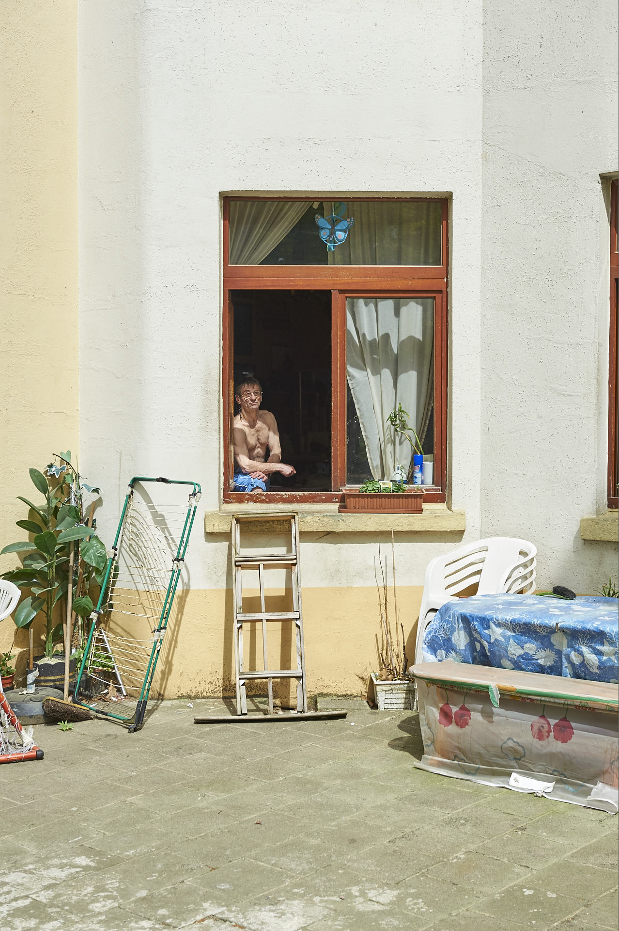 Schaerbeek, Brussel, sociale woningbouw, binnen