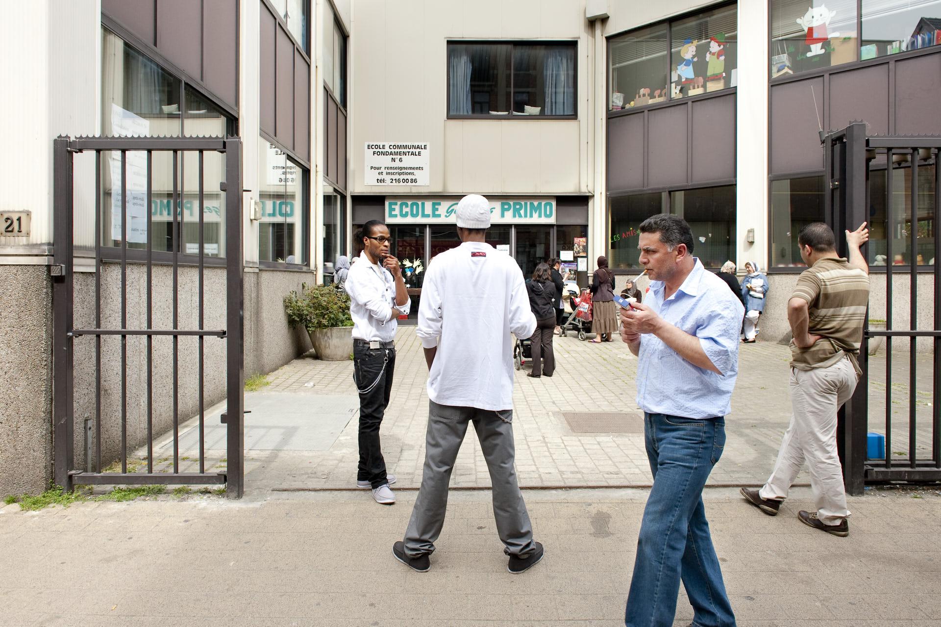 Schaerbeek, Brussel, school gaat uit, fotografie ,Frank Penders